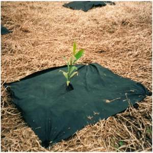 nonwoven weed control